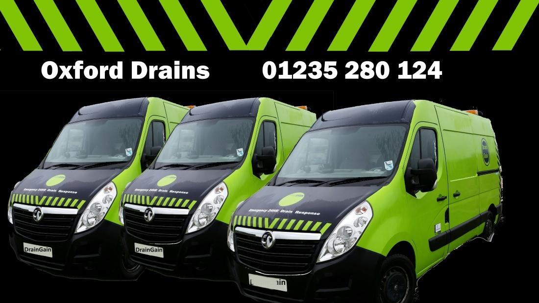 Blocked Drains in Oxford - Drain Gain 01235 206645