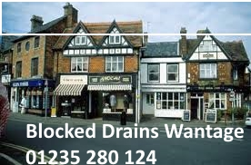Blocked drains wantage