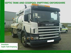 Septic Tank Emptying Oxfordshire